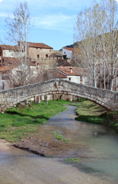 Bridge of Miravete de la Sierra