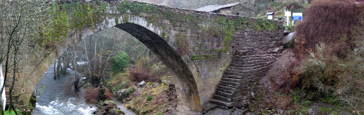 Restoration of the medieval Roman Bridge Navea